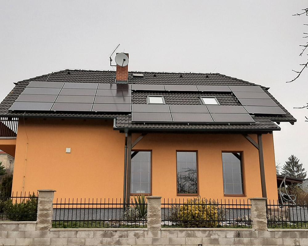 fotovoltaika na rodinný dům
